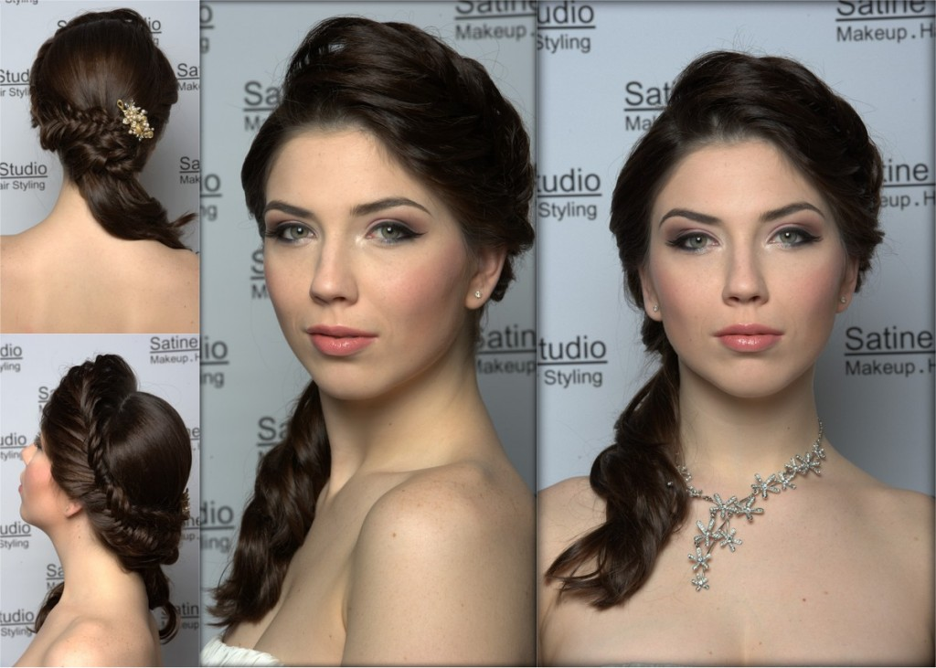 Makeup | hair: Satine.  Jewelry: Satine Studio Jewellery