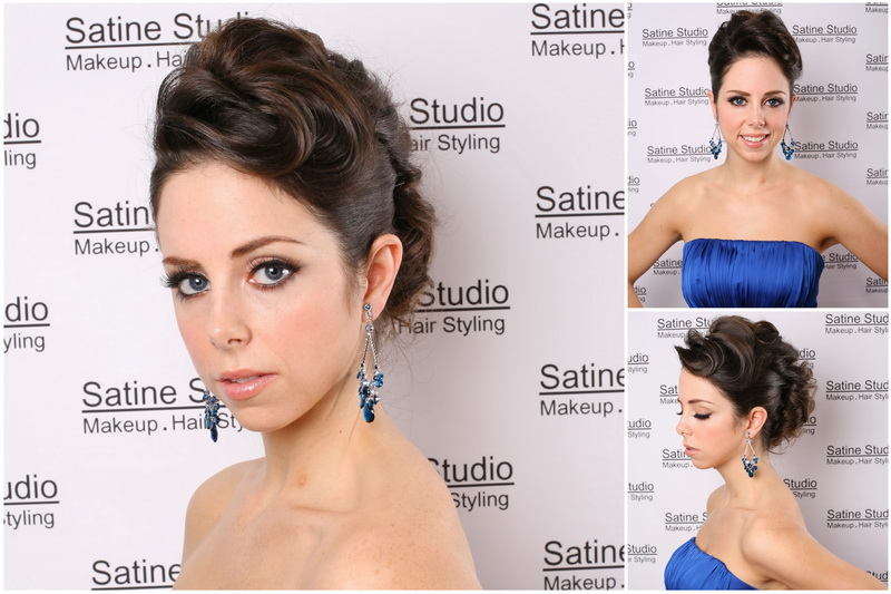 Makeup , hair and jewellery by Satine